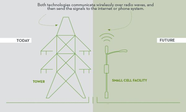 small cell graphic