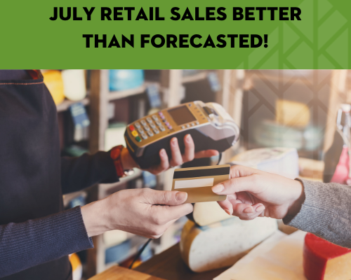 July 2020 Sales Tax Collection