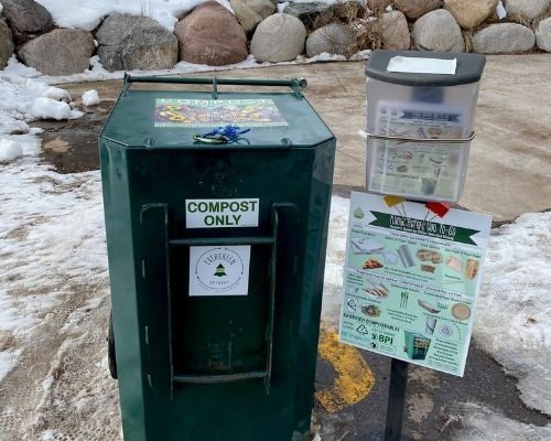 Rio Grande Recycling Center accepts compostable containers
