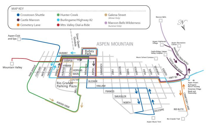 Aspen Shuttle Route Opens in new window