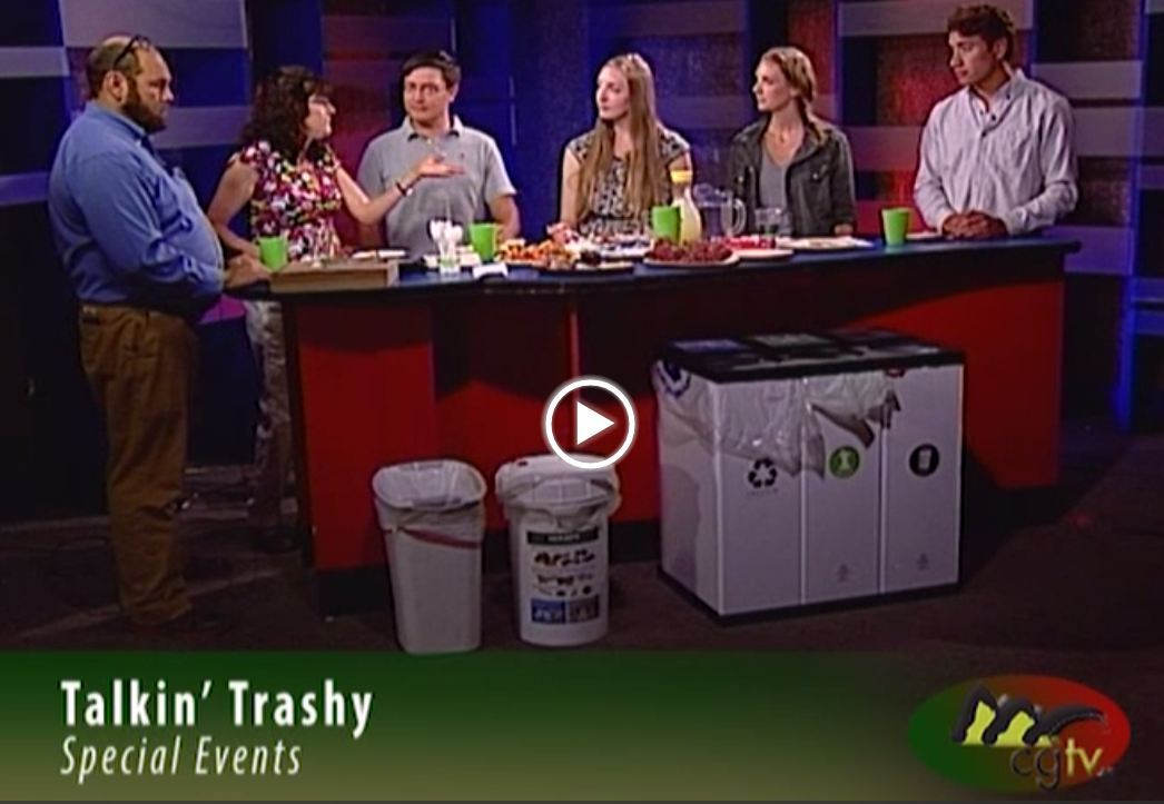 Image of screenshot of Talking Trashy television talk show